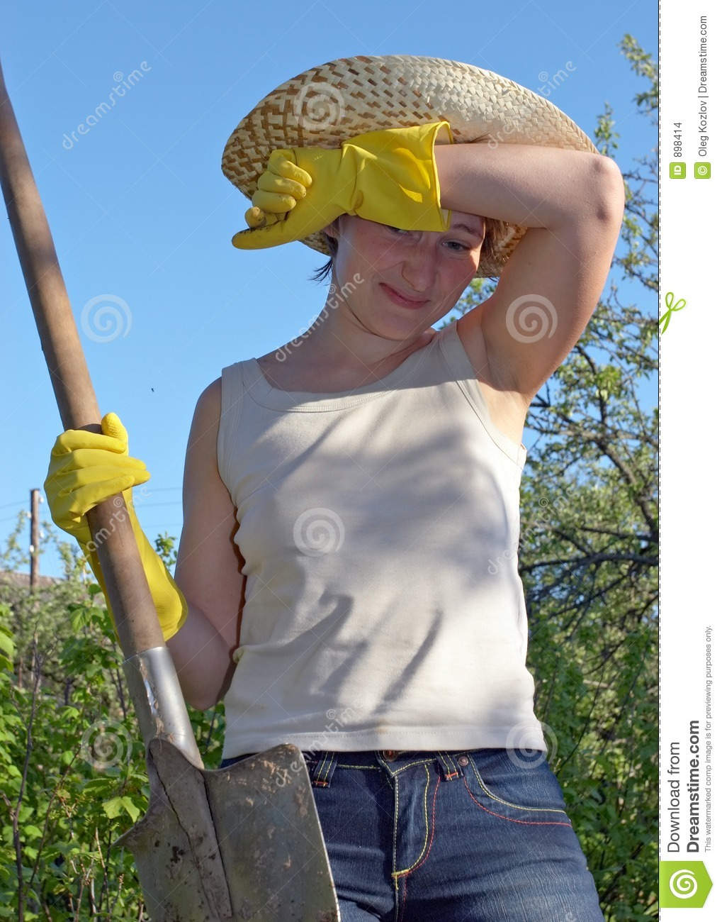 Garden Work Stock Images Image 898414