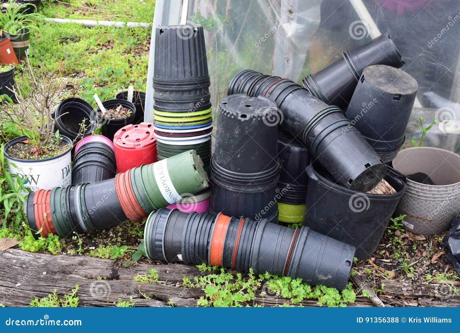 Gardeners pot collection