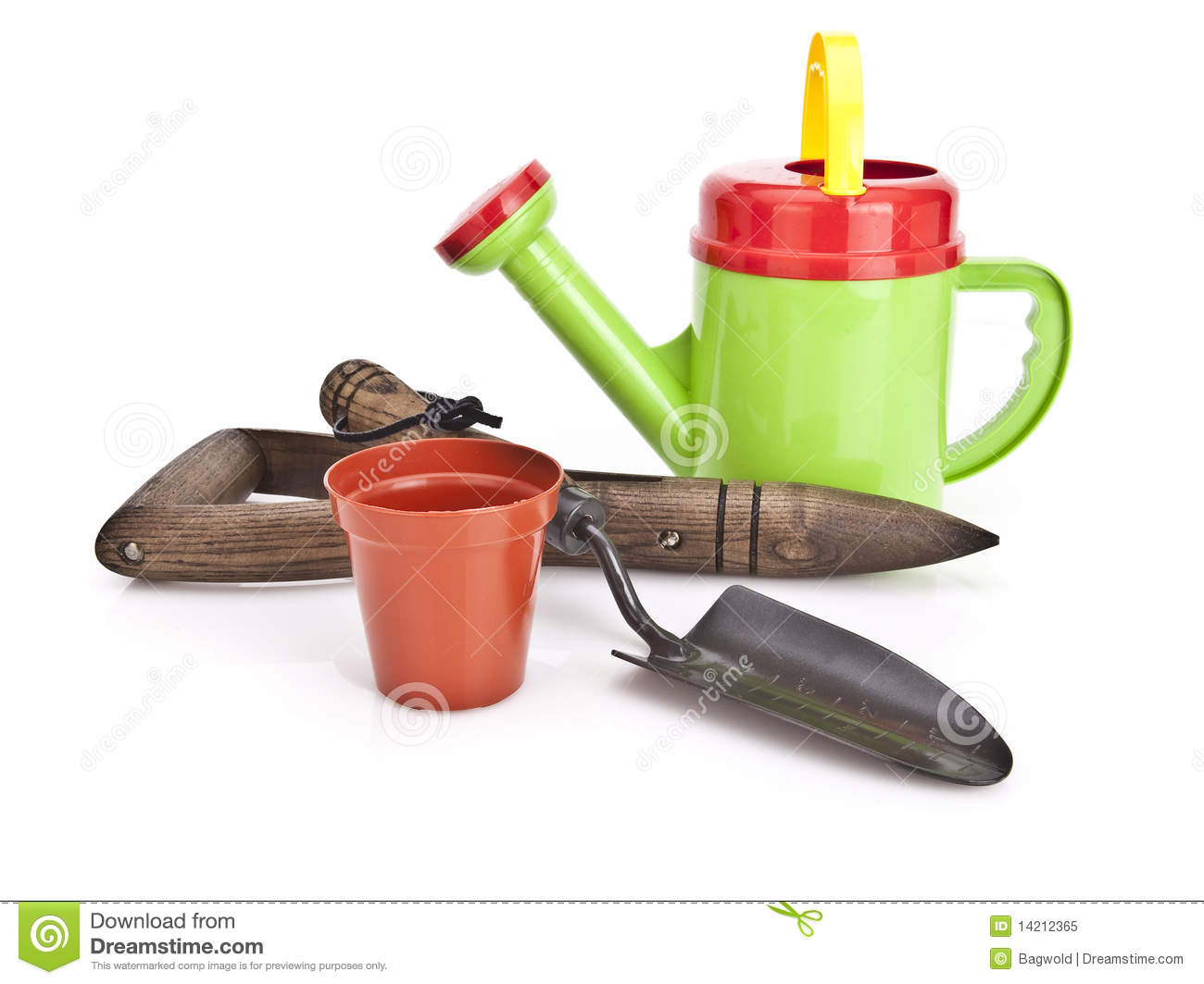 Gardening tools royalty free stock photo image 14212365 for Gardening tools watering