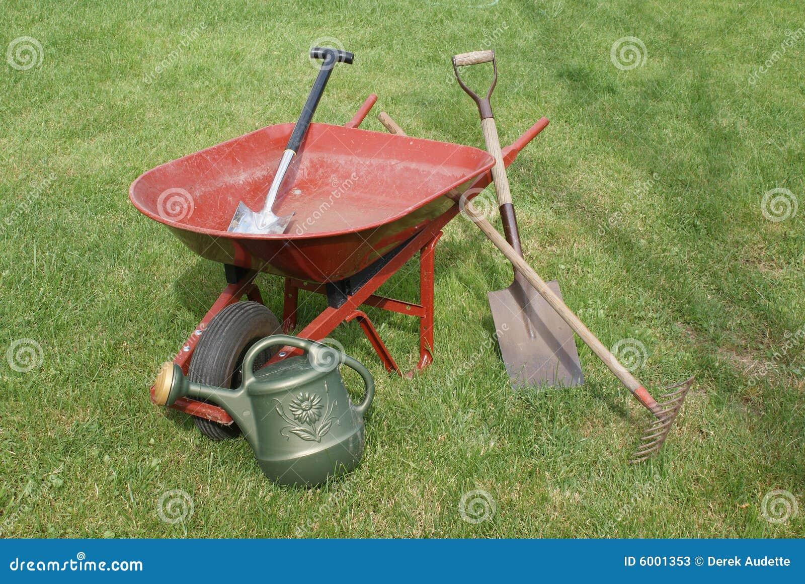Gardening tools and equipment stock image image 6001353 for Gardening tools and equipment