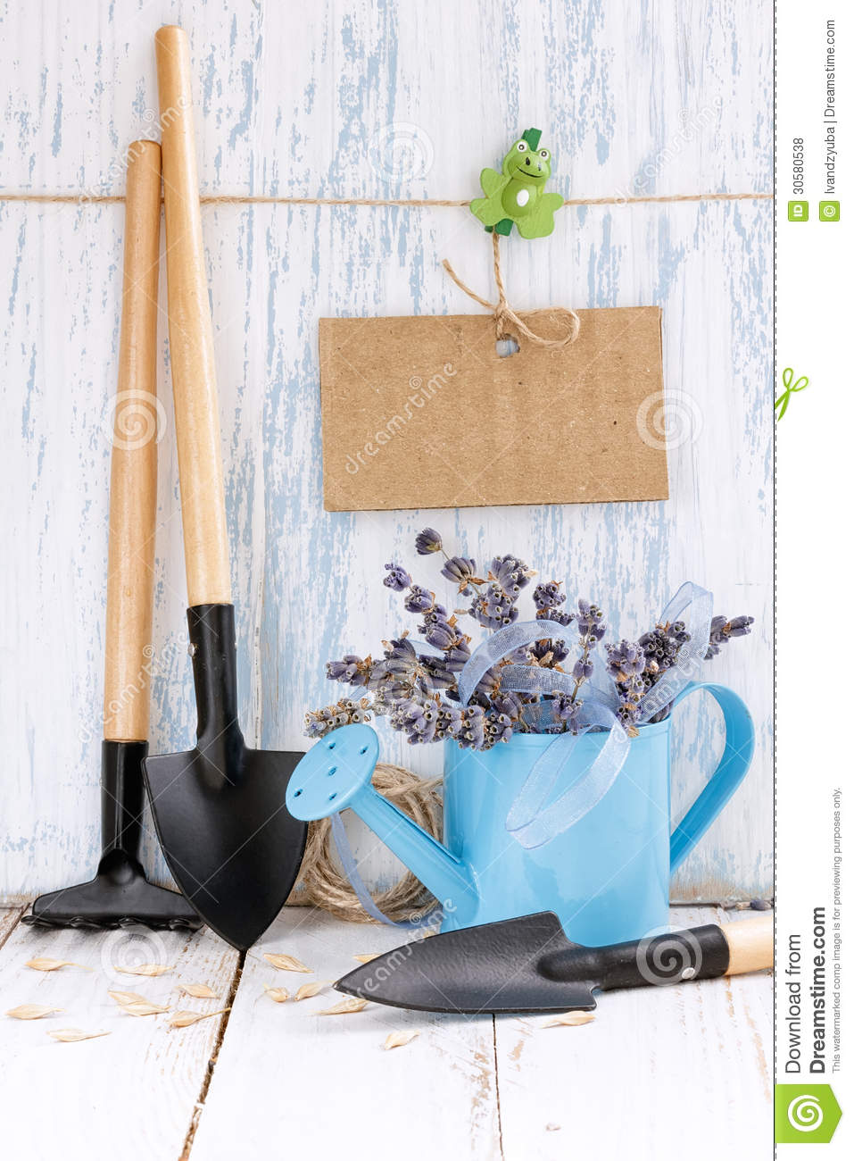 Gardening tools royalty free stock photos image 30580538 for Gardening tools watering