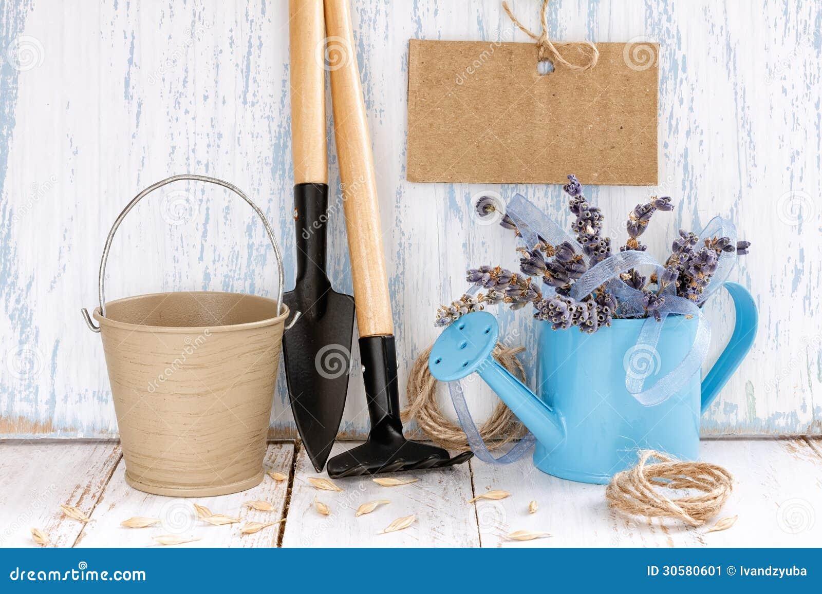 Gardening tools stock image image 30580601 for Gardening tools watering
