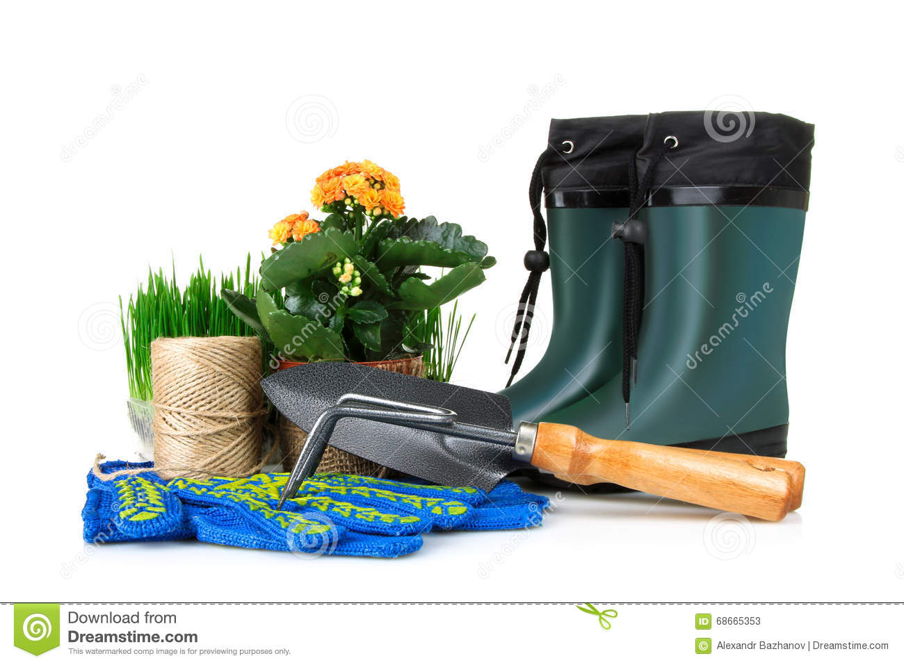 Gardening tools stock photo image 68665353 for Gardening tools toronto