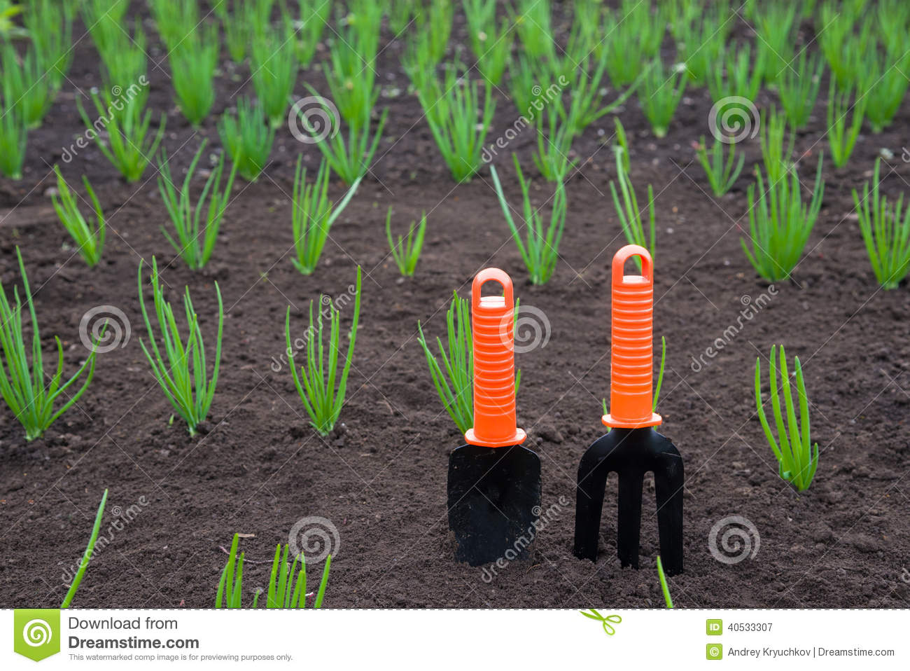 Gardening tools stock photo image 40533307 for Soil utensils