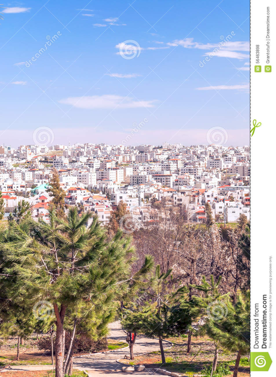 Gardens Amman In Jordan Stock Photo Image Of Outdoor