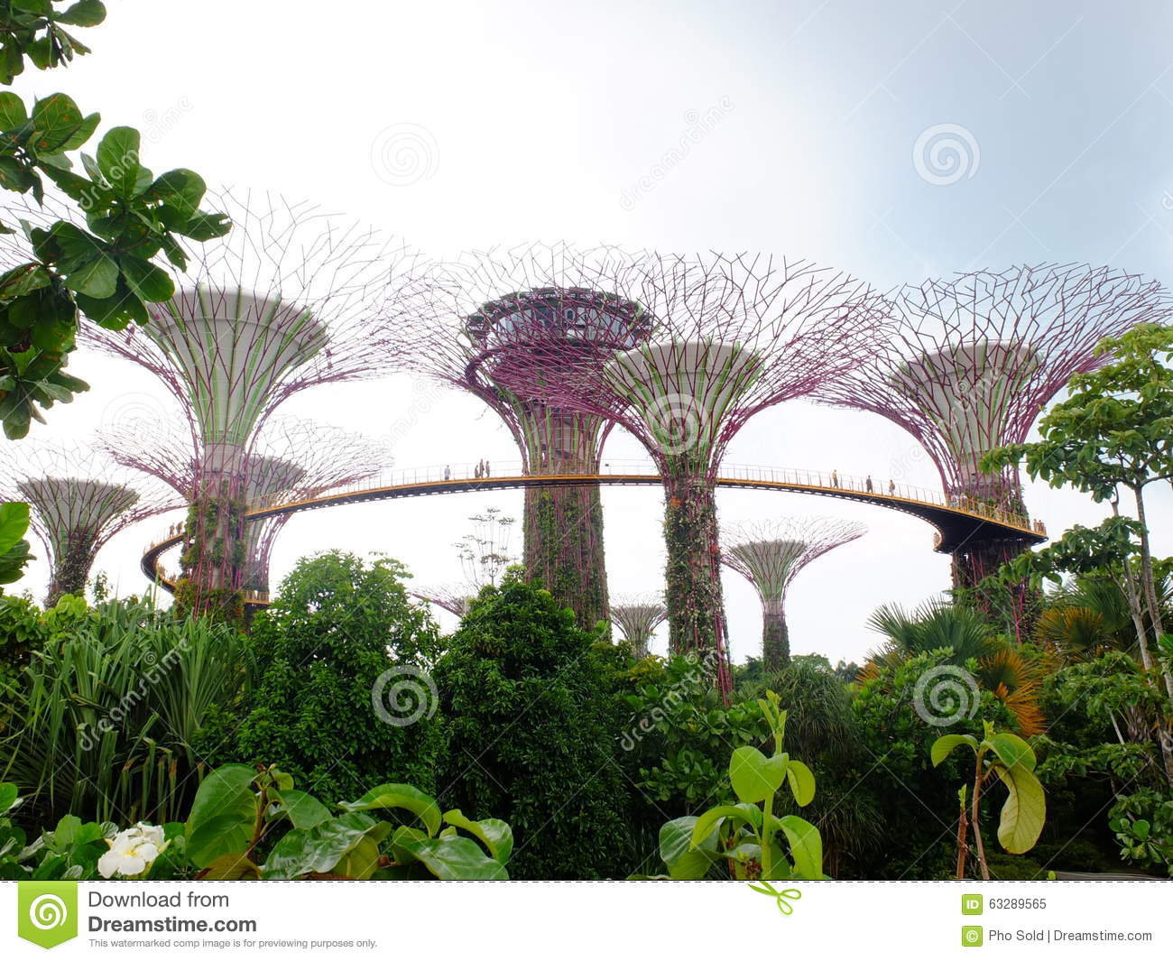 Gardens By The Bay Is A Nature Park Spanning 101 Hectares 250 Acres Of Reclaimed Land2 In Central Singapore Adjacent To Marina Reservoir
