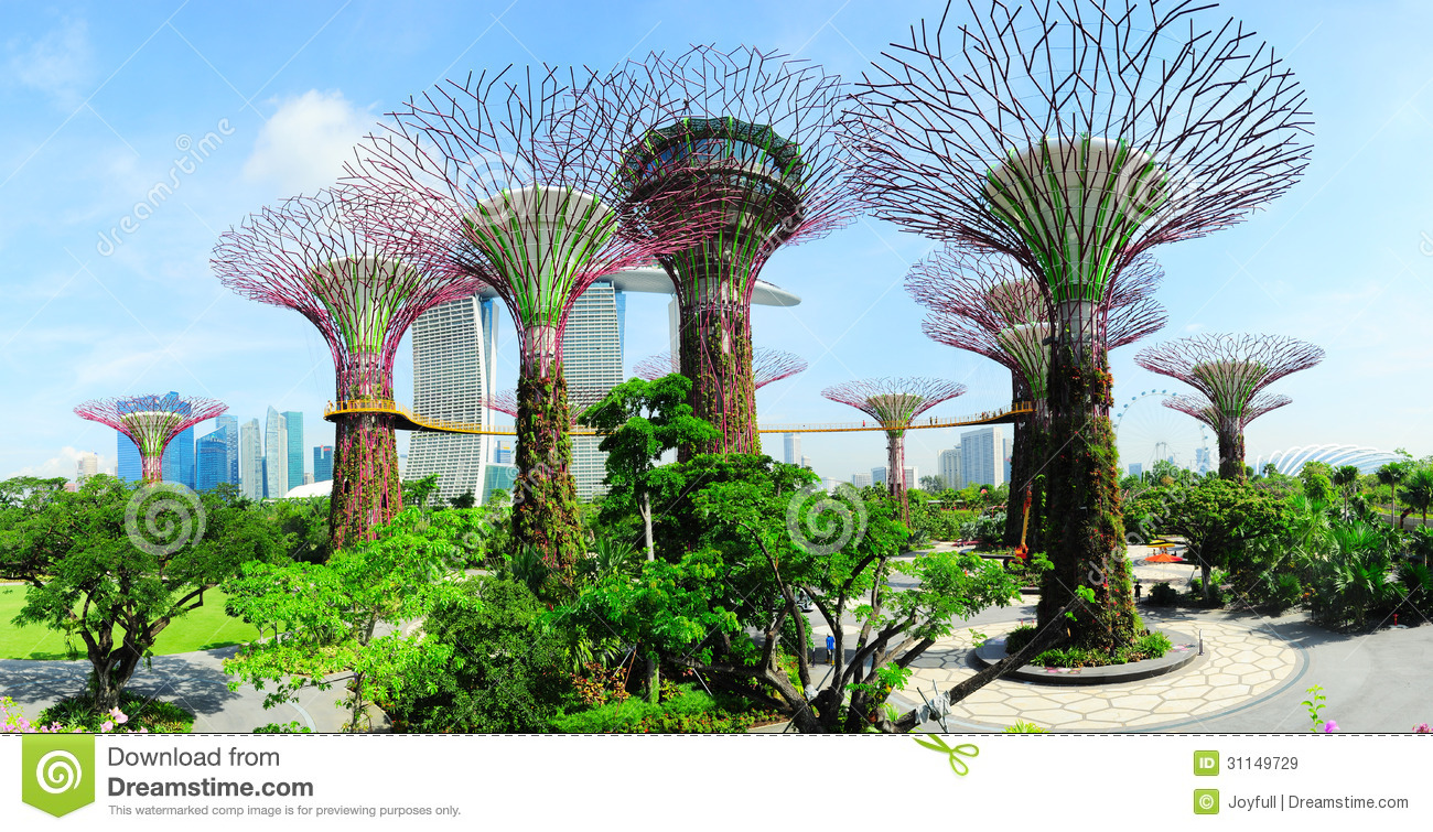 Gardens By The Bay Editorial Stock Image Image 31149729