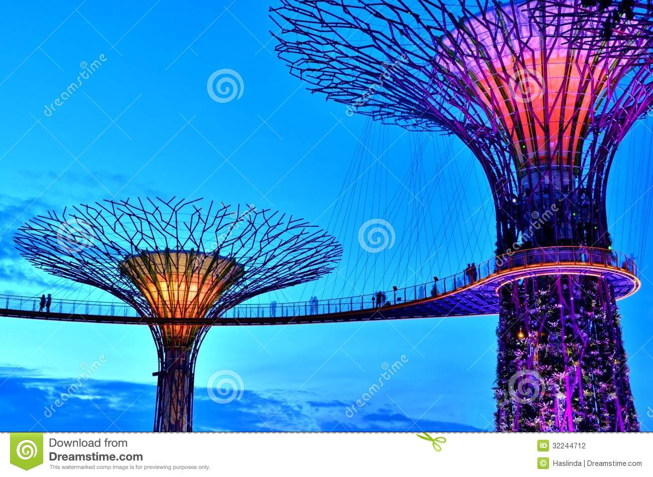 Gardens by the Bay Supertrees, Singapore