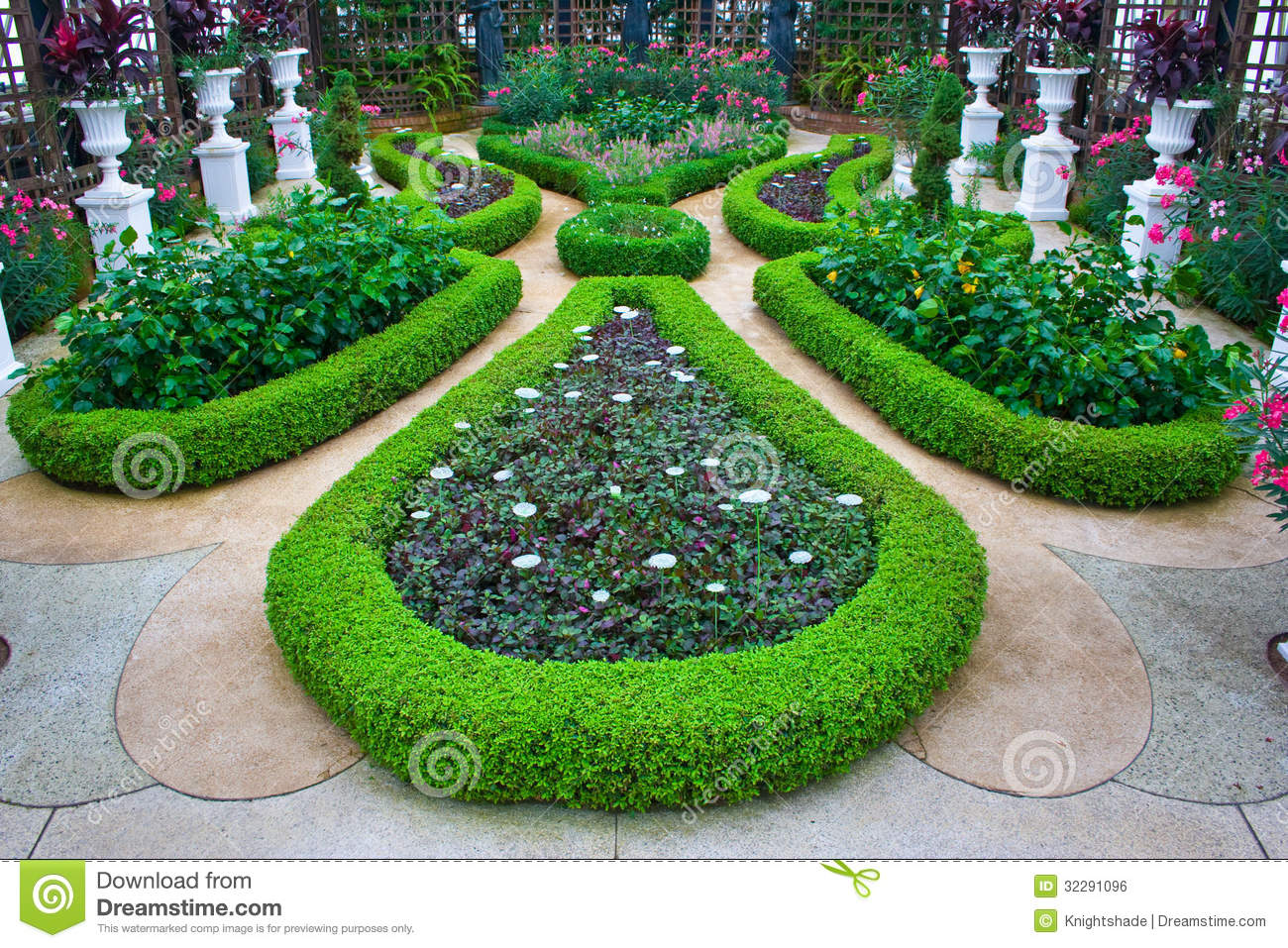 Gardens At Phipps Conservatory Royalty Free Stock Image Image