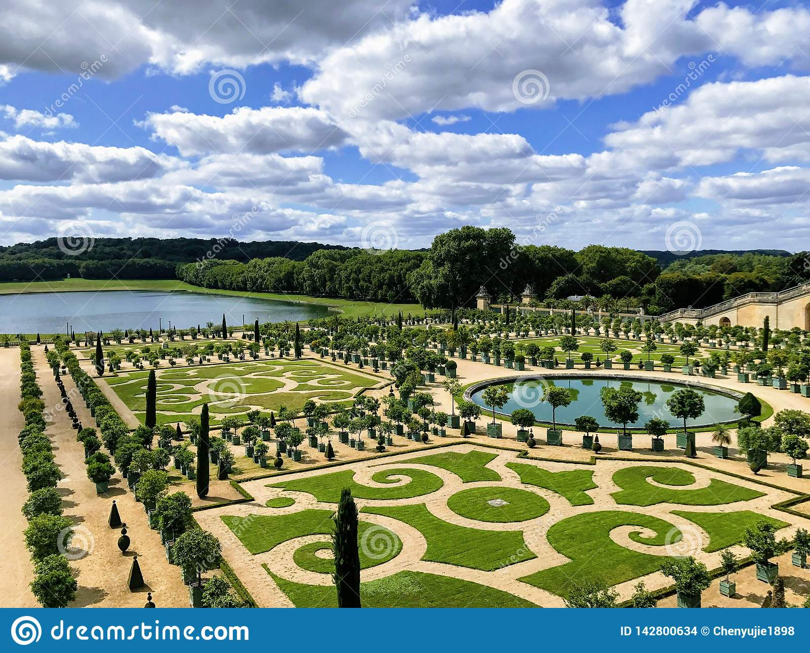 Gardens Of Versailles France 2