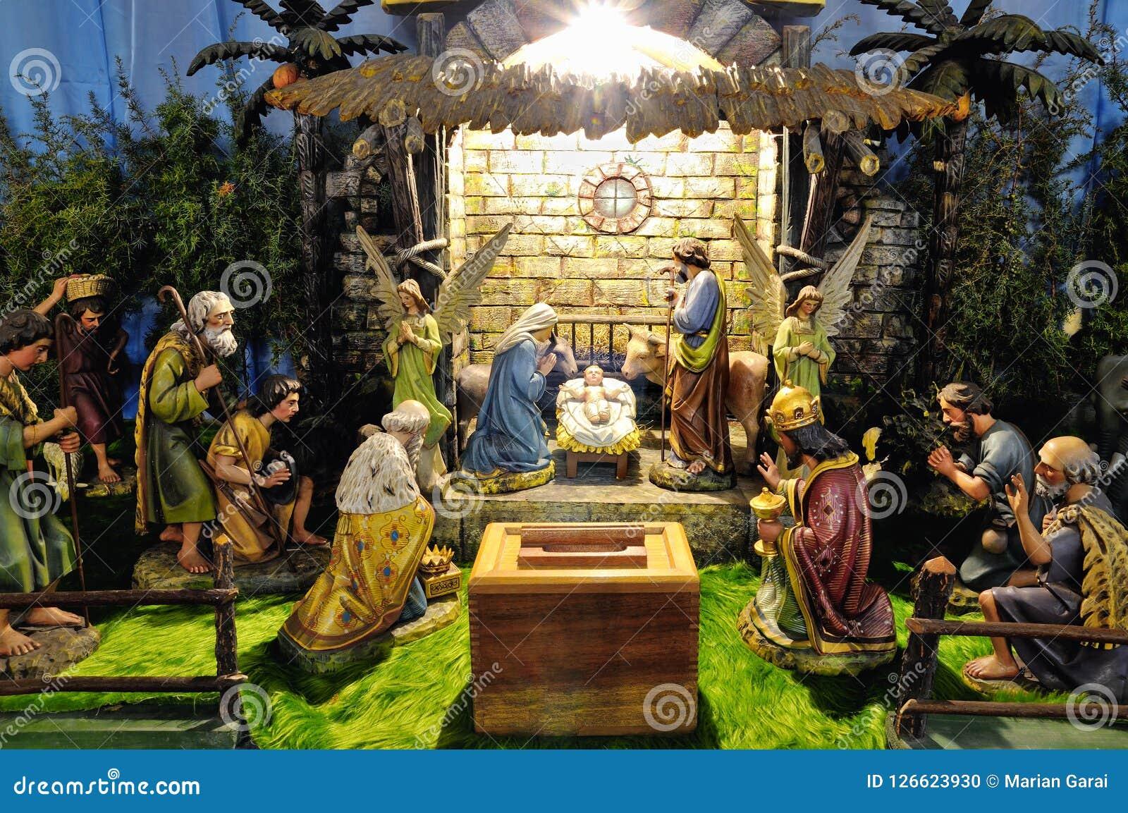 Garderie de betlehem de Noël