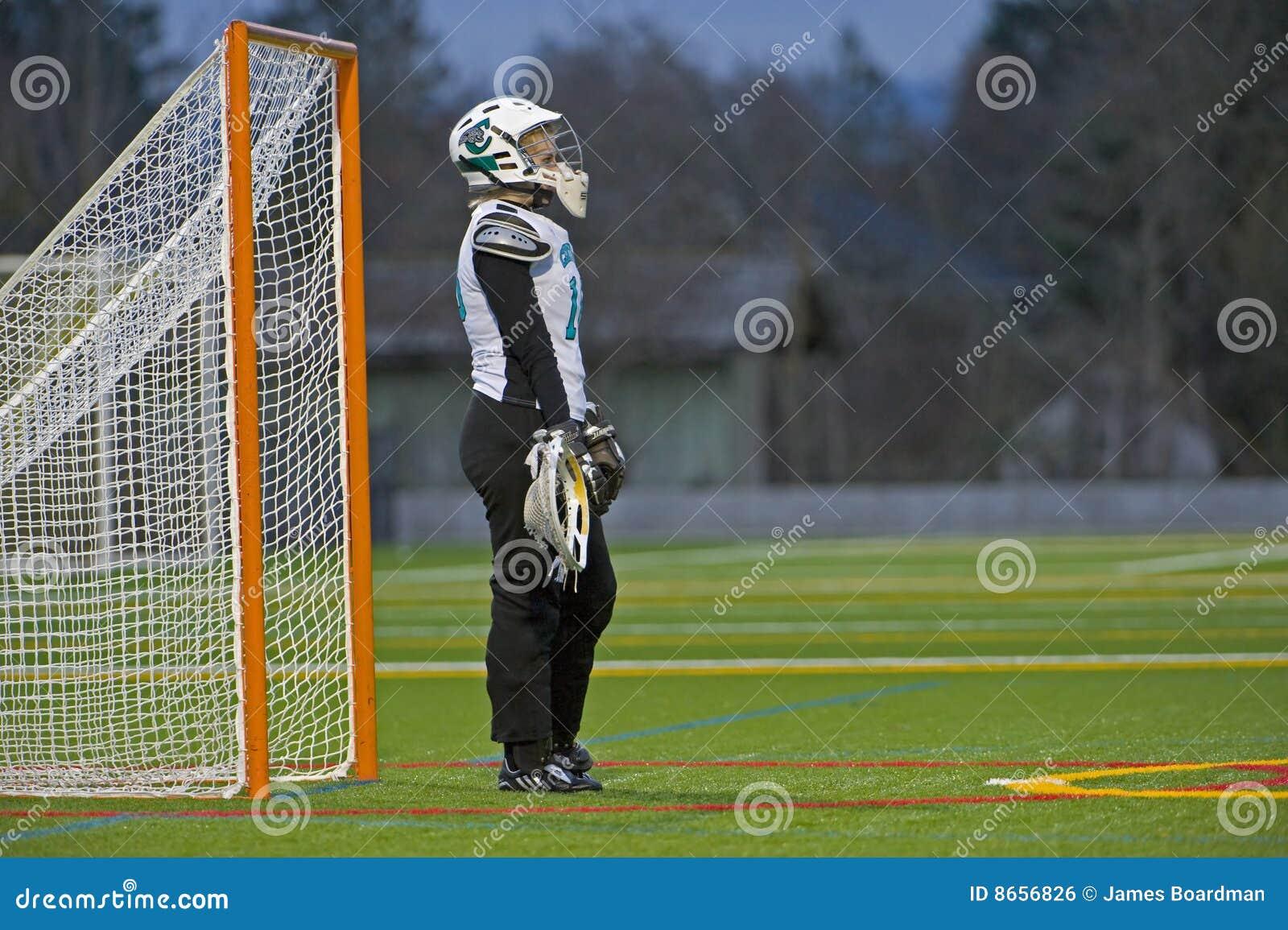 Gardien de but de Lacrosse de filles