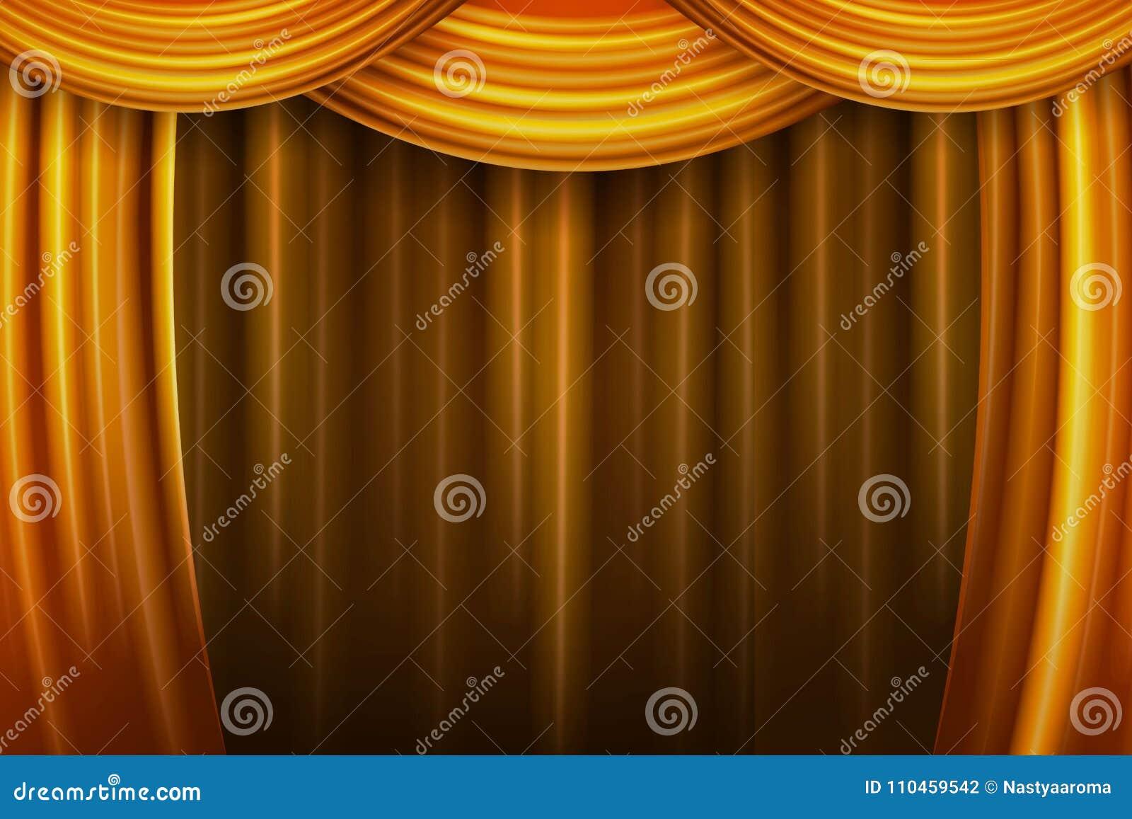 Gardintyg viker den släta teatern för guld