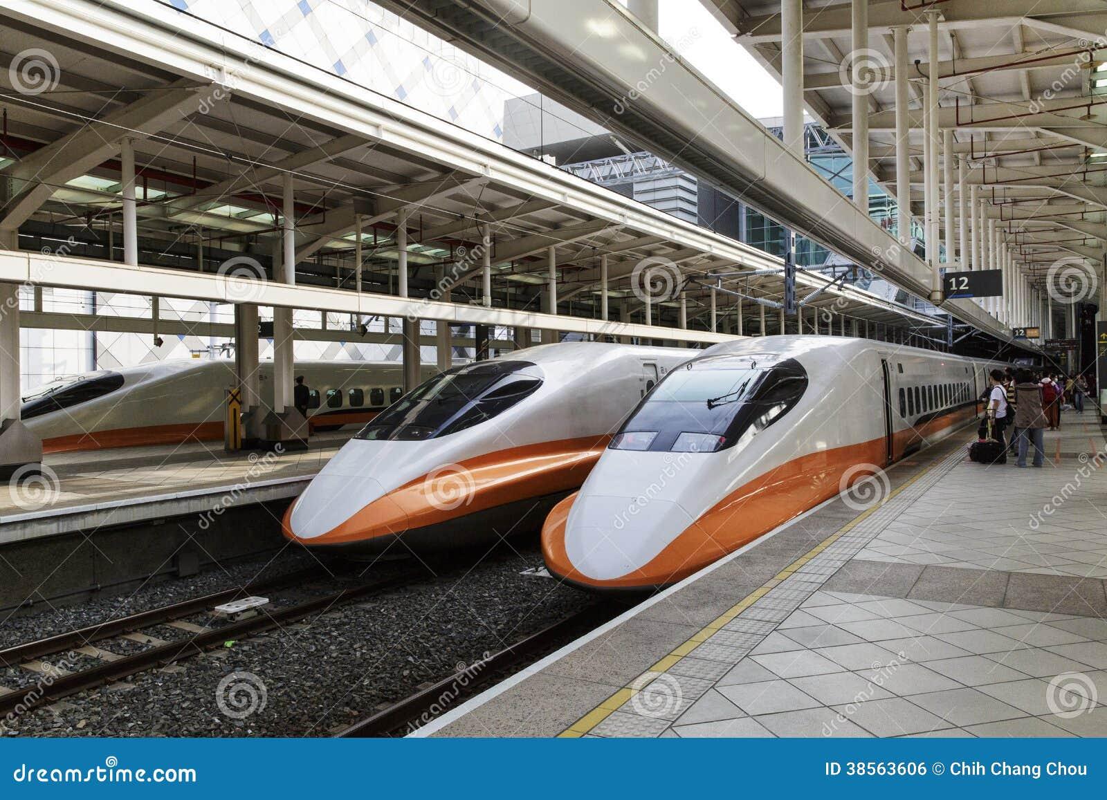 Gare à grande vitesse à Taïwan