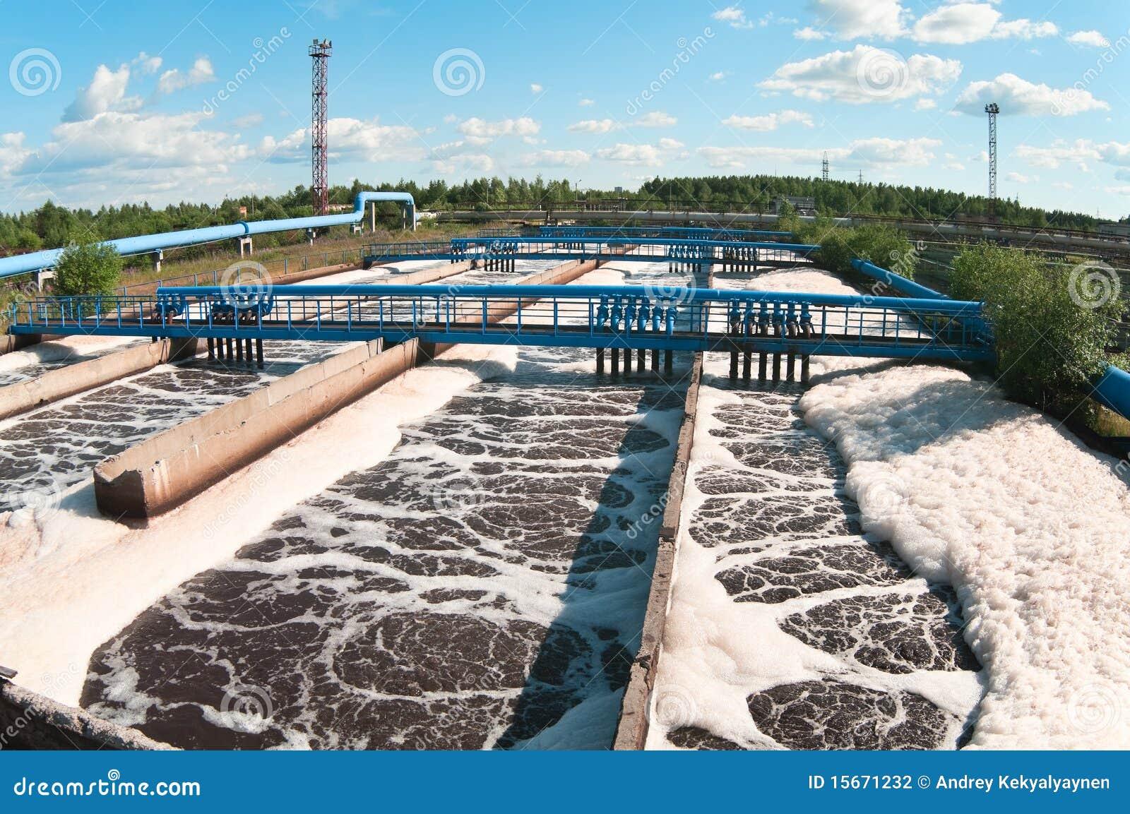 Gare d eaux d égout d eau