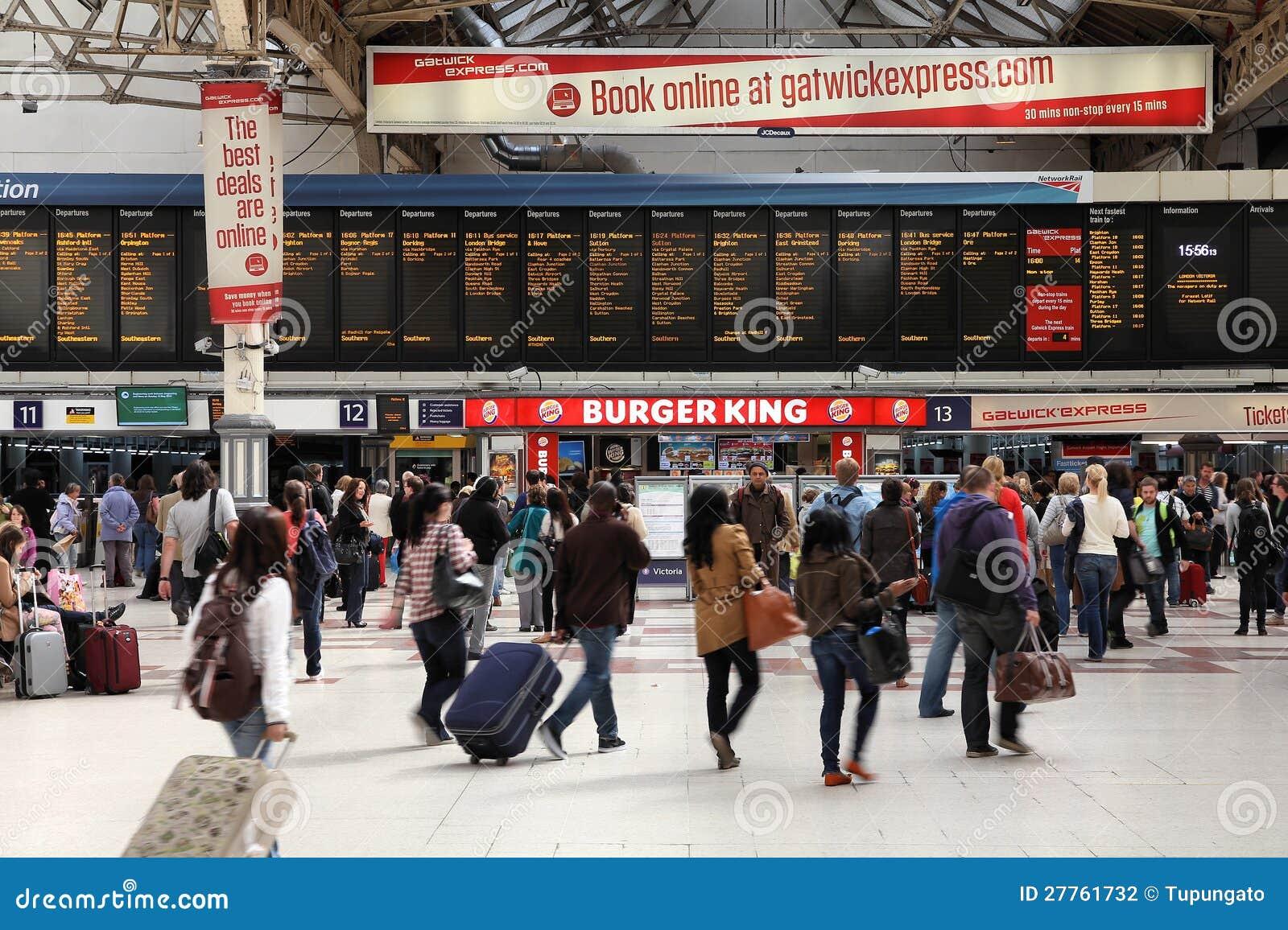 Gare de Victoria, Londres
