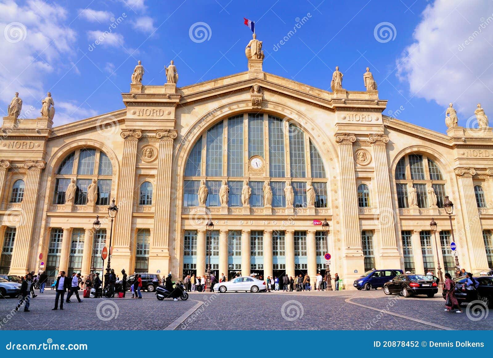 Gare du nord paris editorial photography image 20878452 for Gare du nord paris