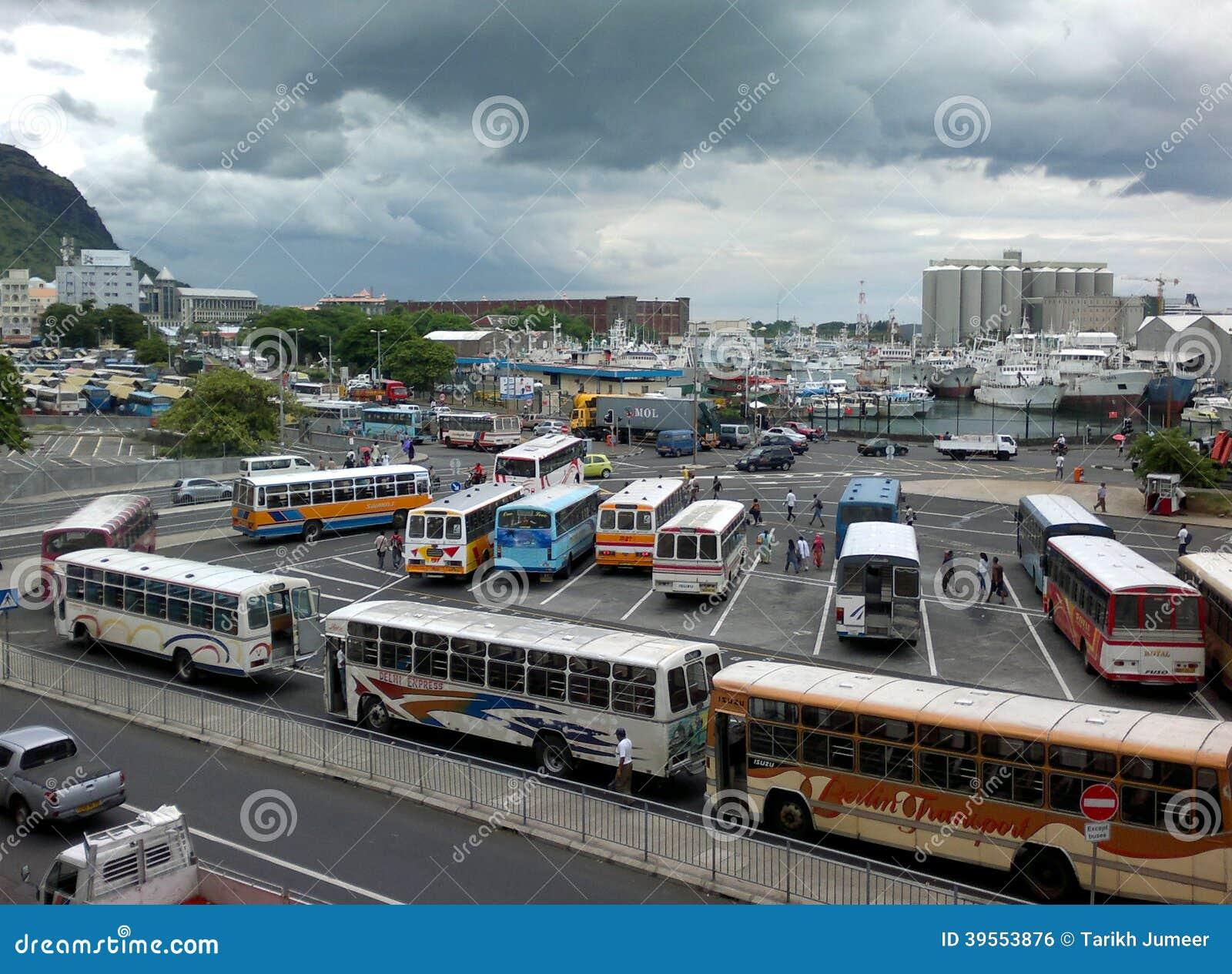 Gare Du Nord Port-Louis przystanek autobusowy