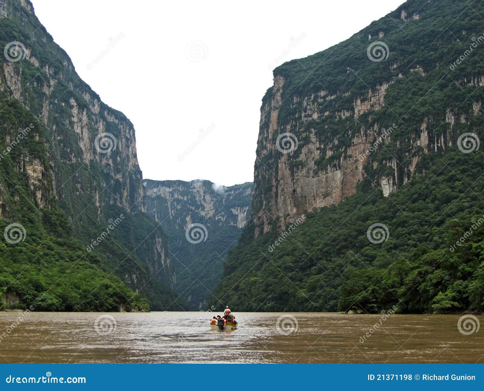 Garganta-Chiapas de Sumidero
