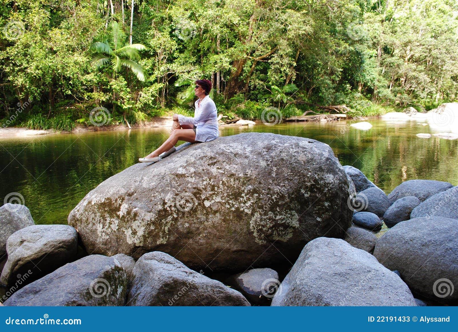 Garganta de mossman fotos de archivo imagen 22191433 - Bater roca precios ...
