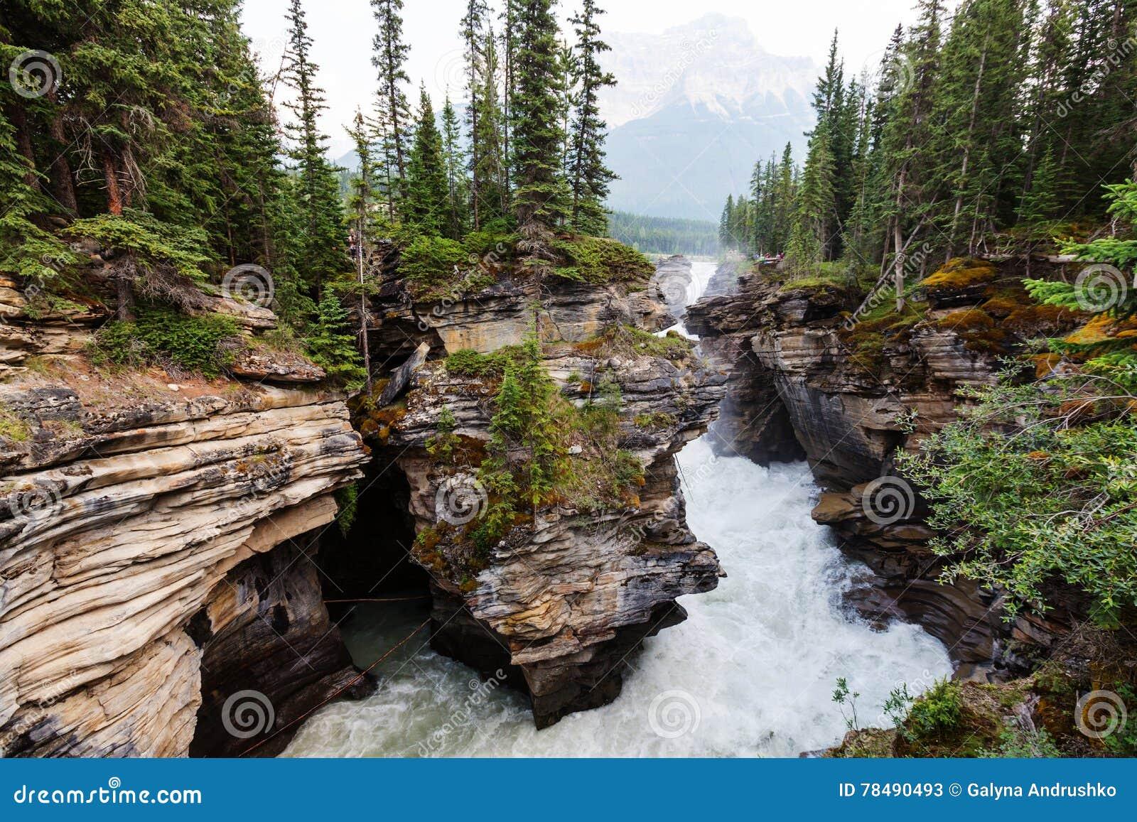 Garganta em Banff NP