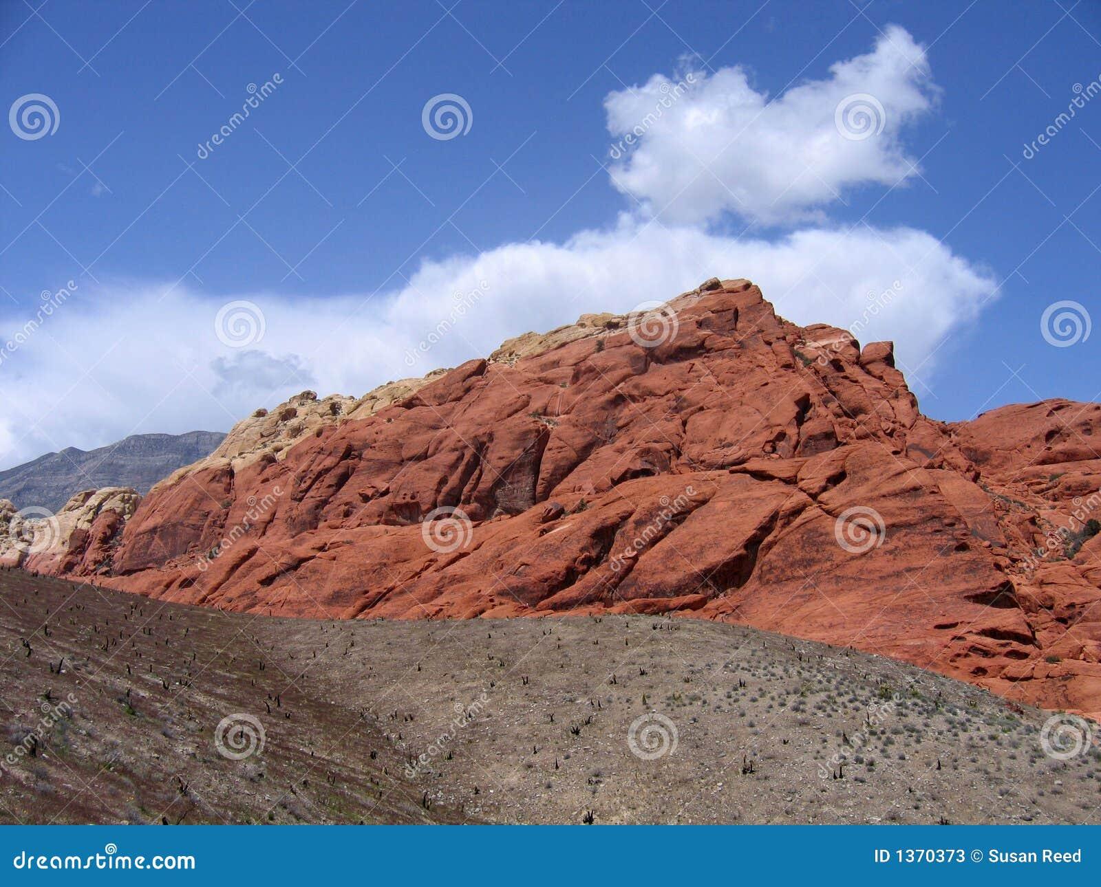 Garganta vermelha #7 da rocha