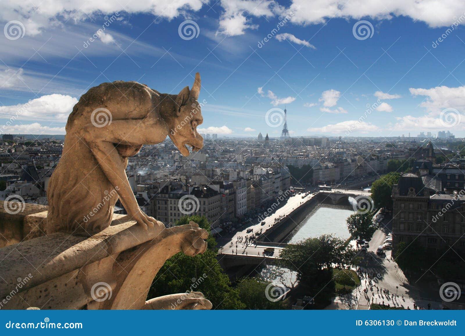 Gargouille de cathédrale de Notre Dame