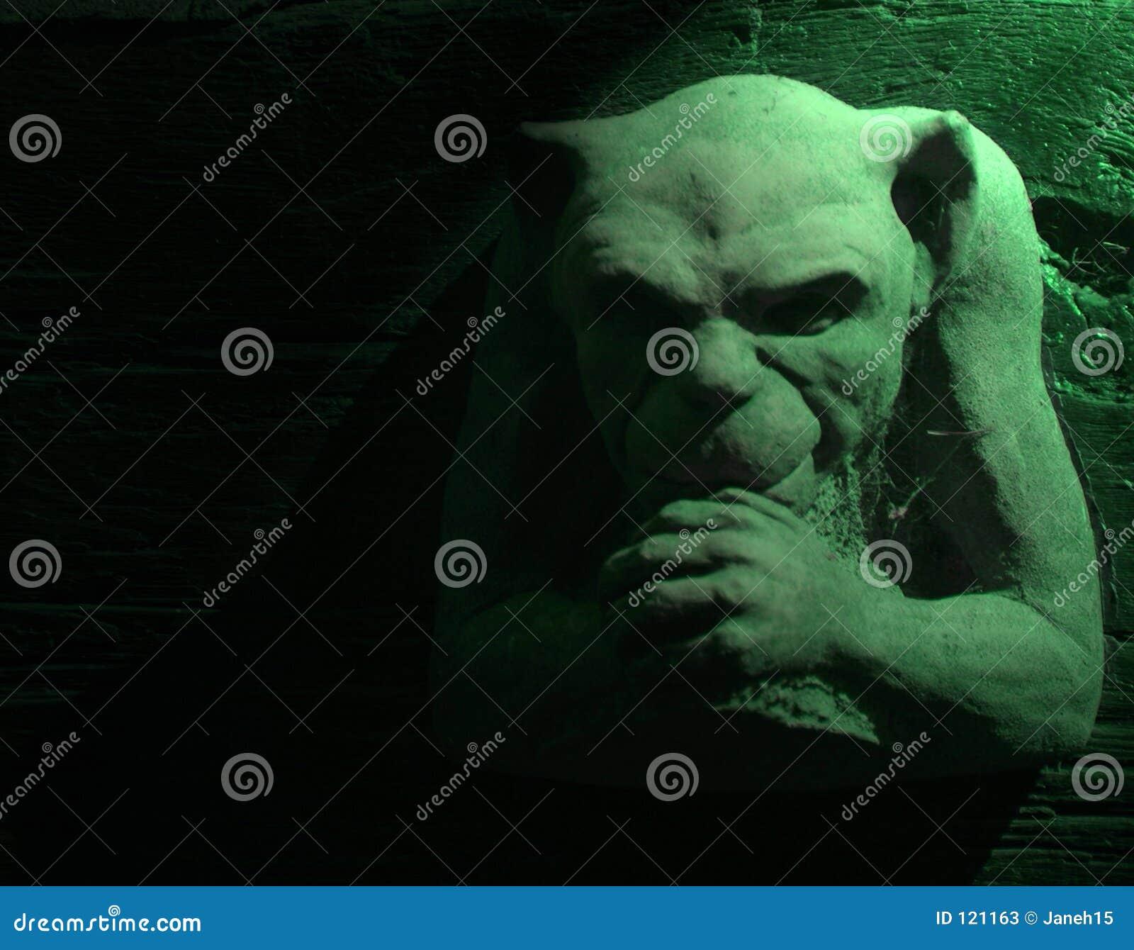 Gargoyle πράσινος