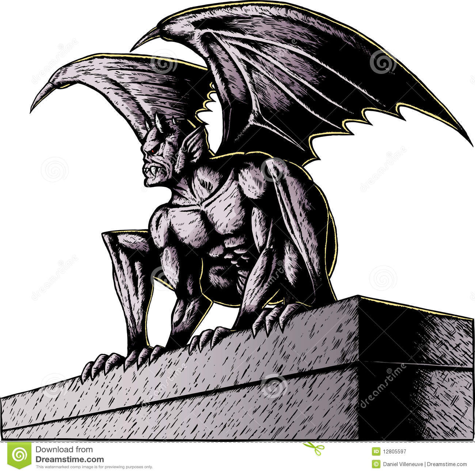 Gargoyle na noite