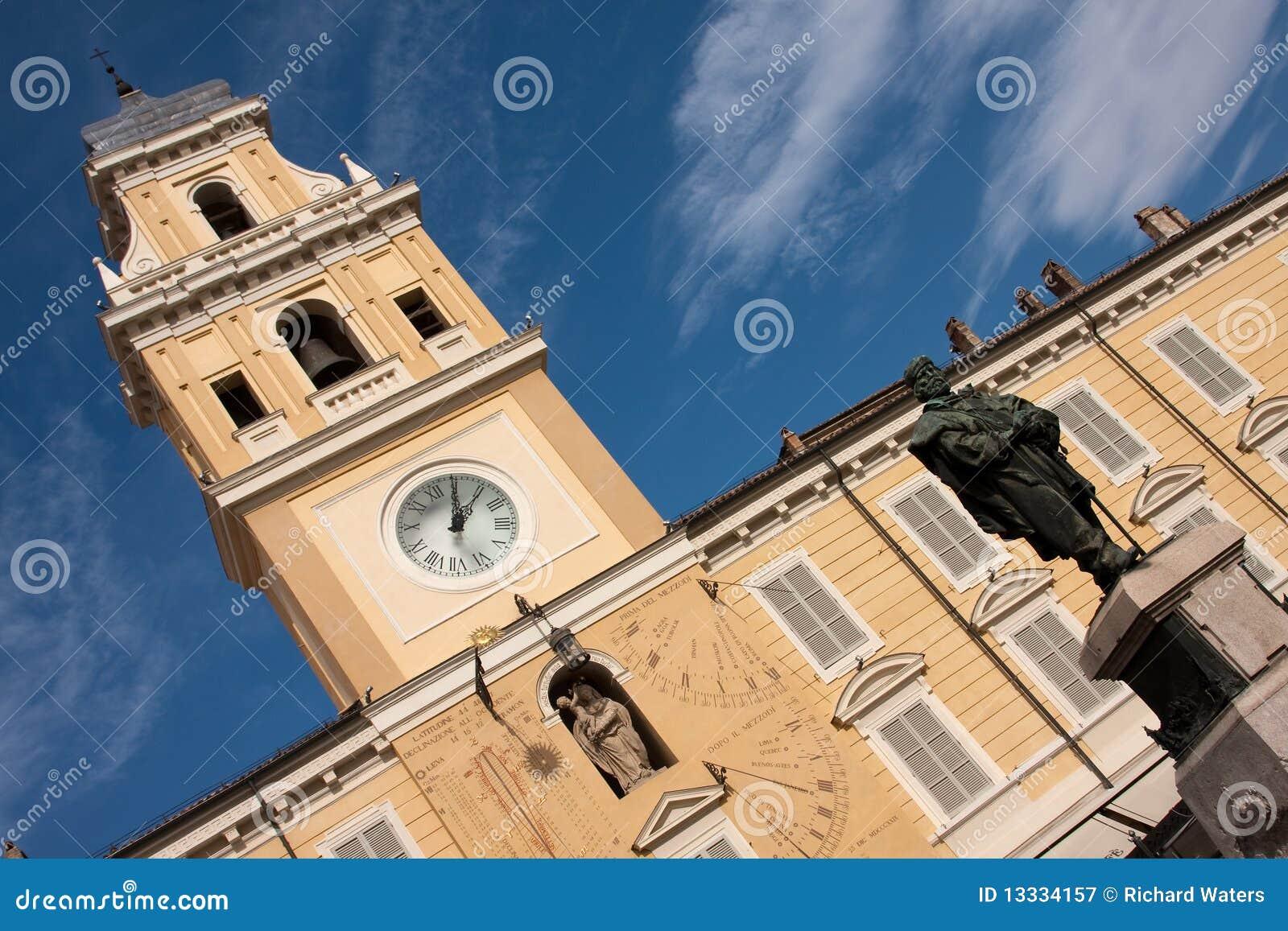 Garibaldi gubernatora Italy pałac Parma piazza s