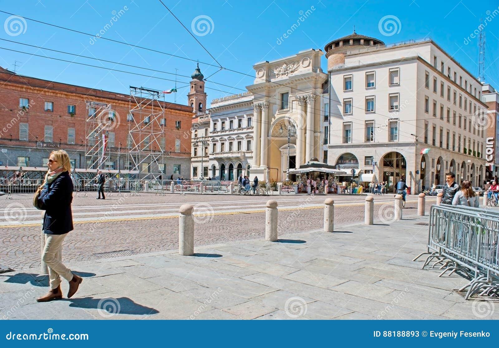 Garibaldi Square in Parma