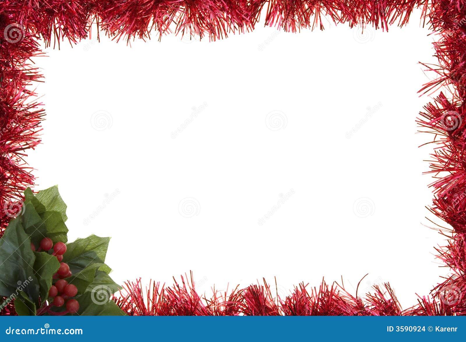 Garland holiday border stock photo image of christmas