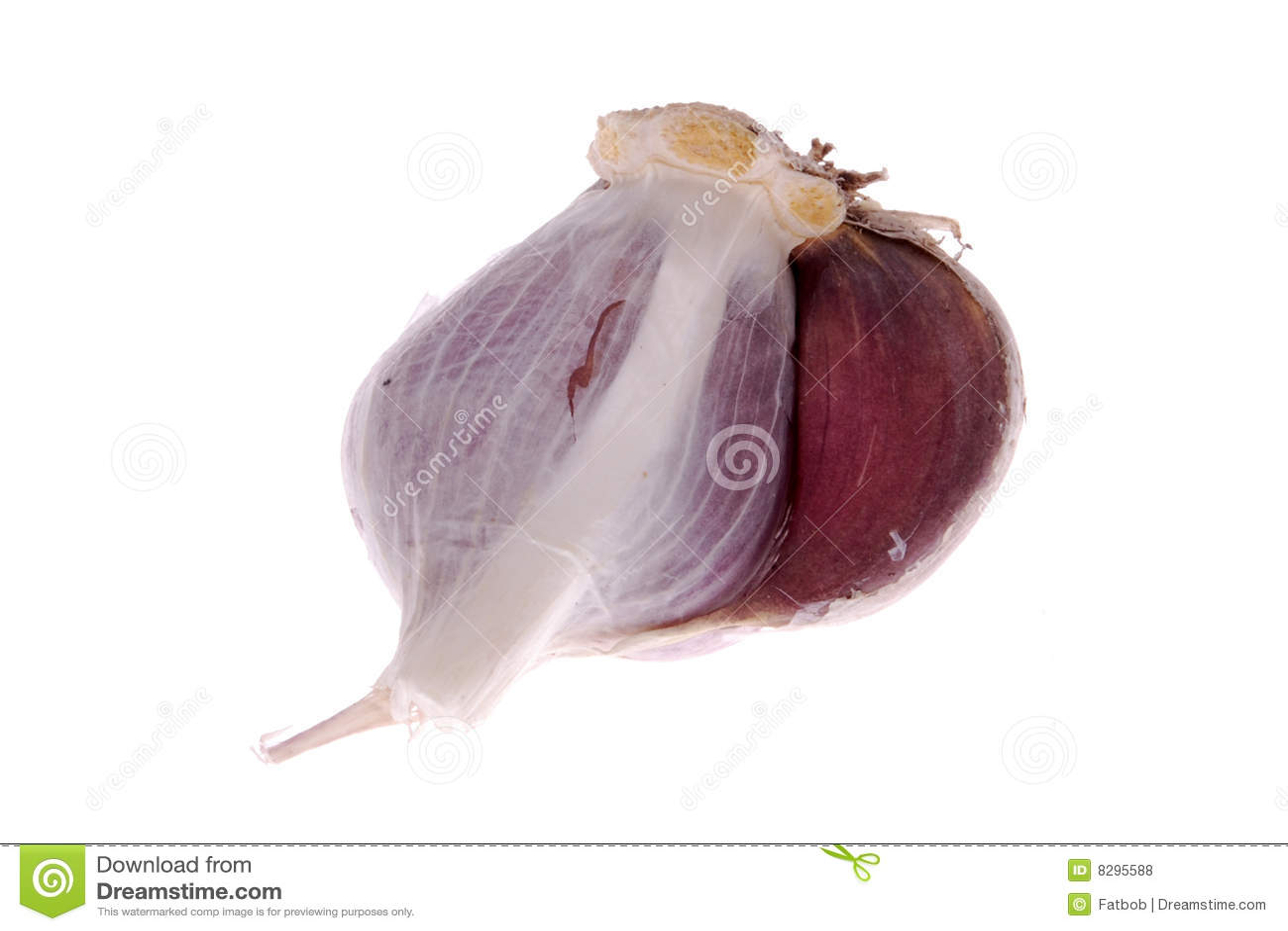 how to open garlic bulb
