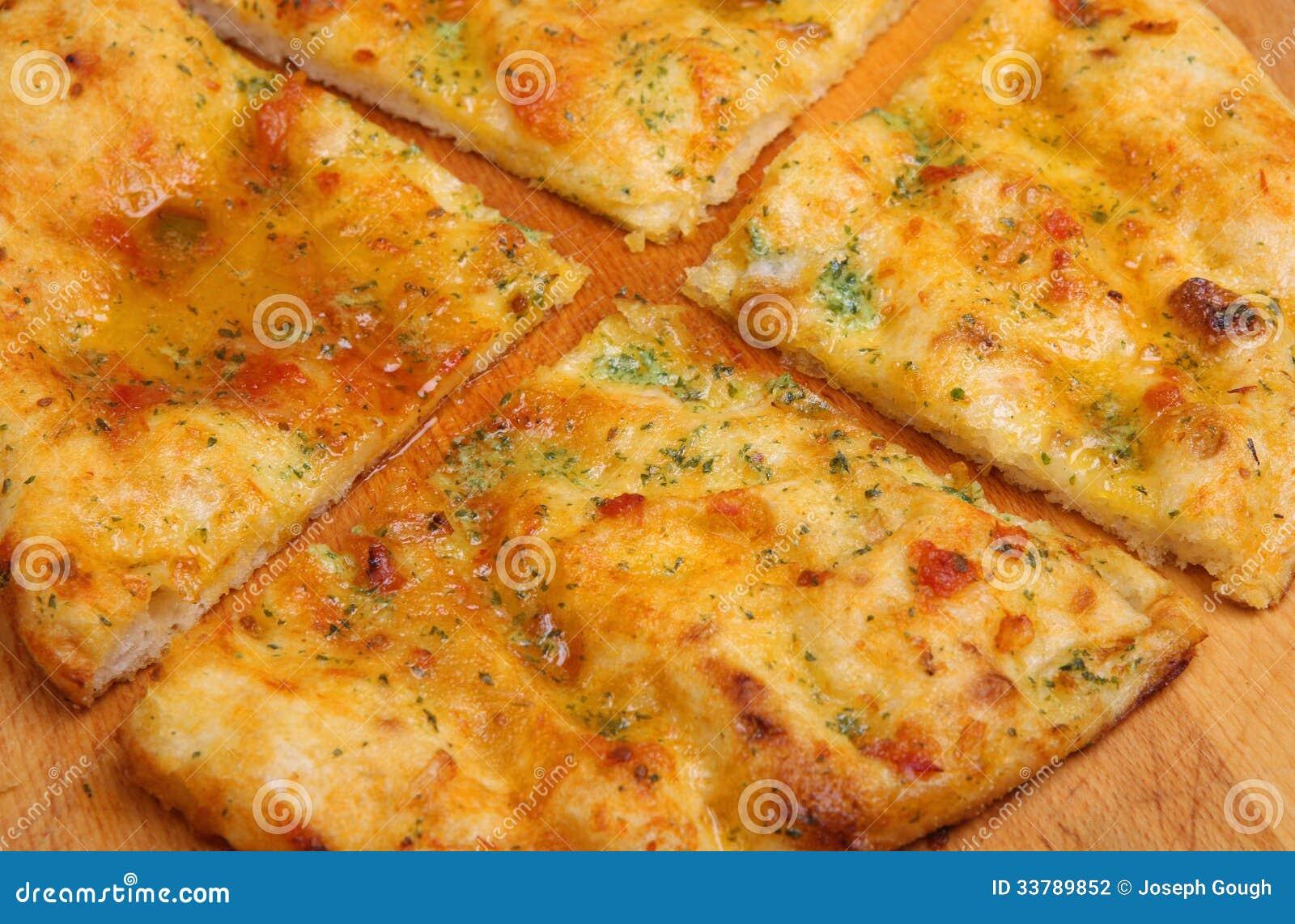 garlic pizza bread stock photography image 33789852