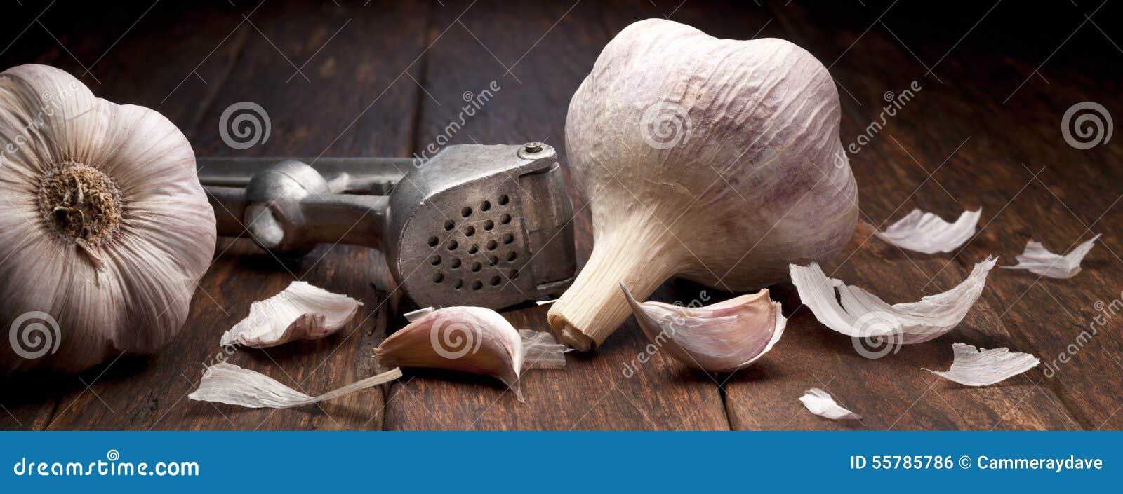 Garlic Press Background