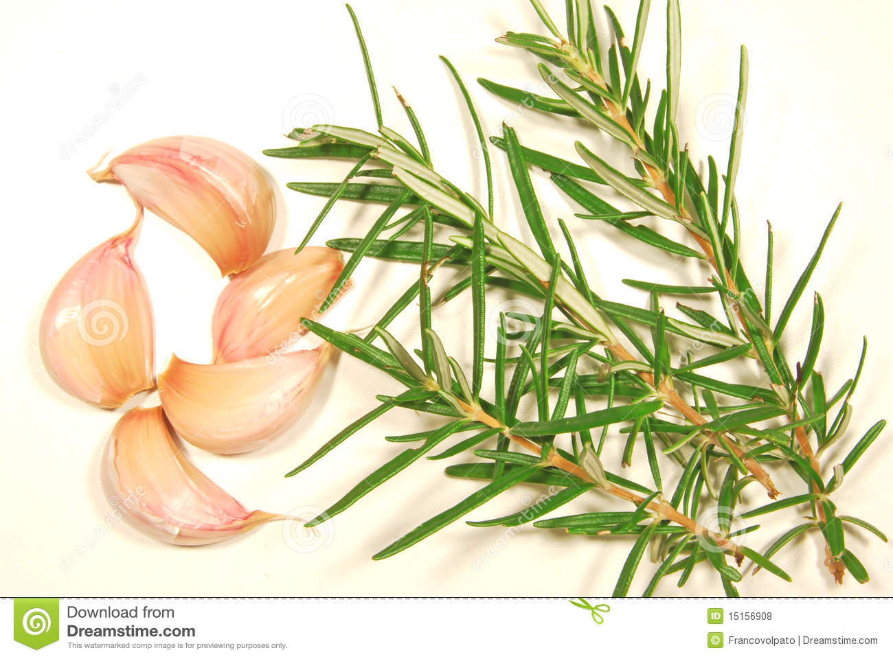 Garlic and Rosemary