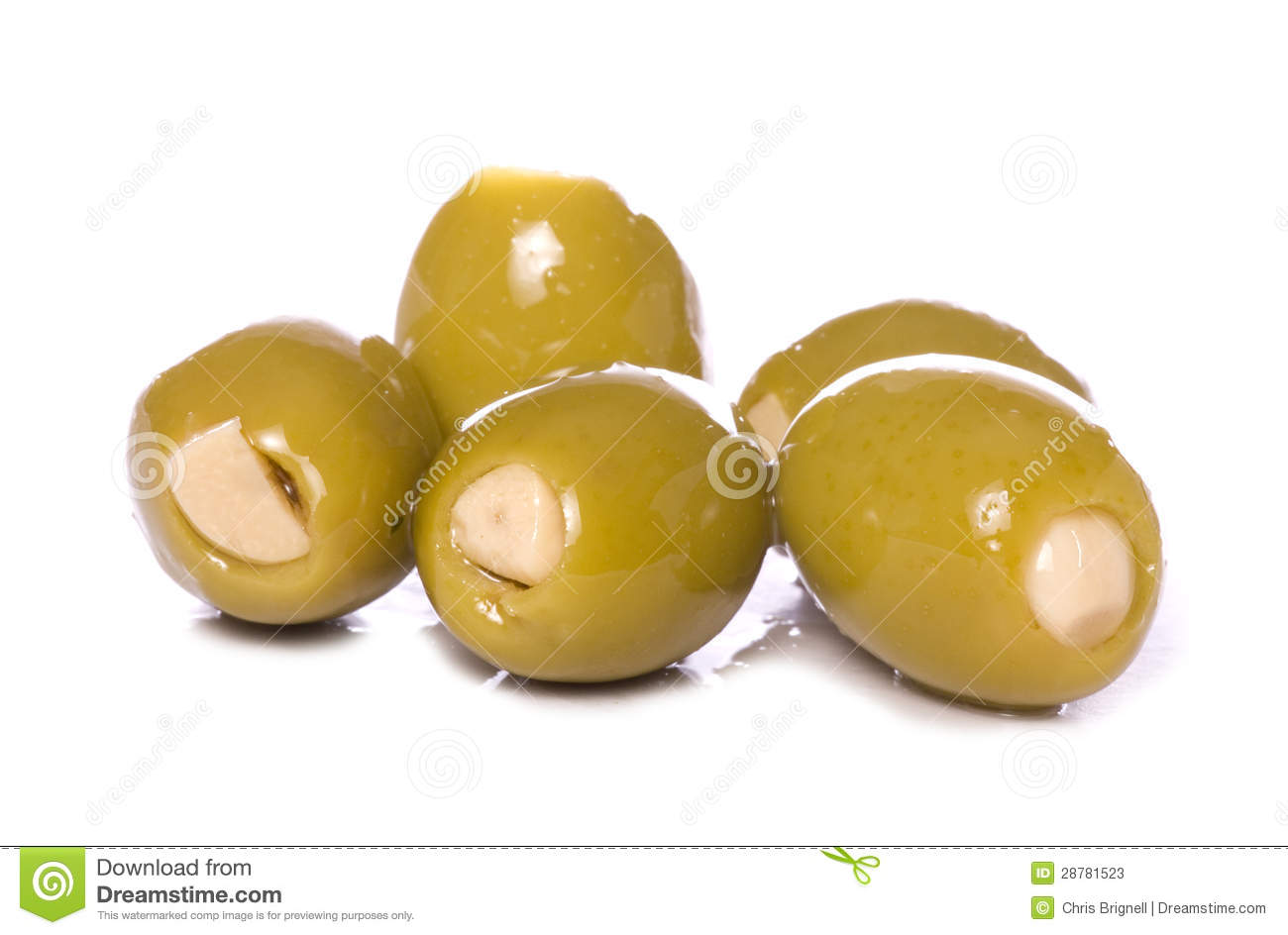 how to eat a stuffed olives