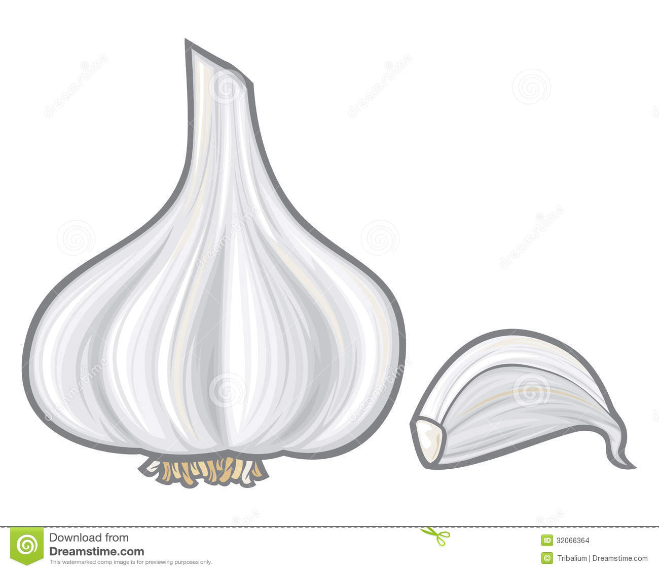 garlic stock images image 32066364 cube clip art for free cube clip art b&w