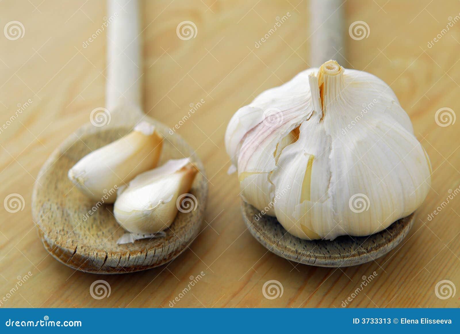 Garlics et cuillères