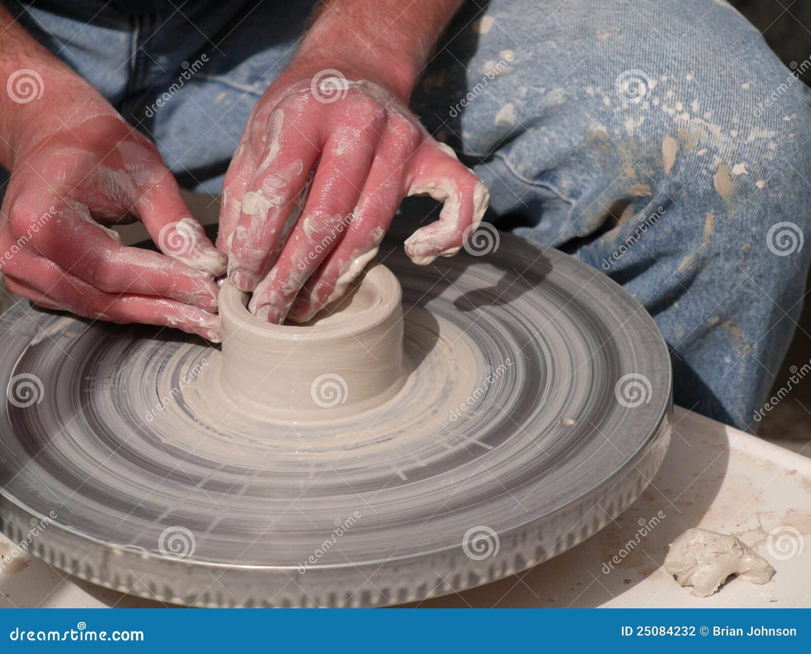 Garncarki gliniany przędzalnictwo