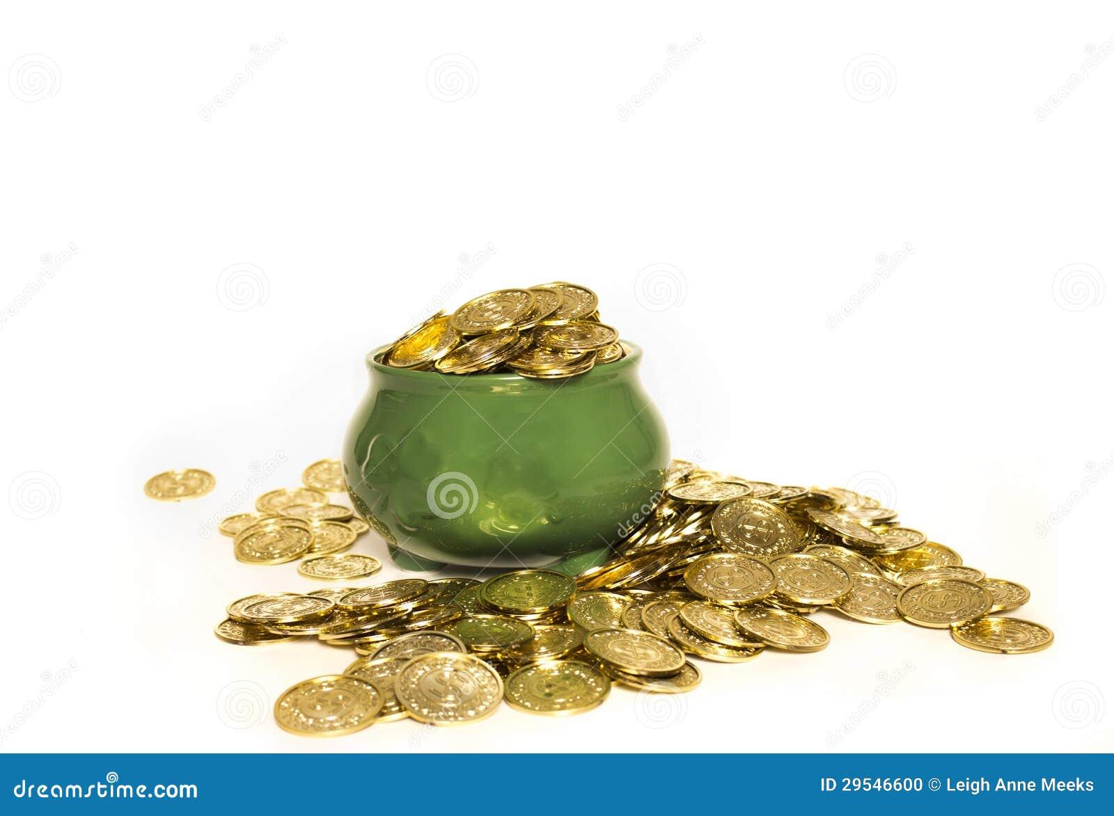 Garnek złoto