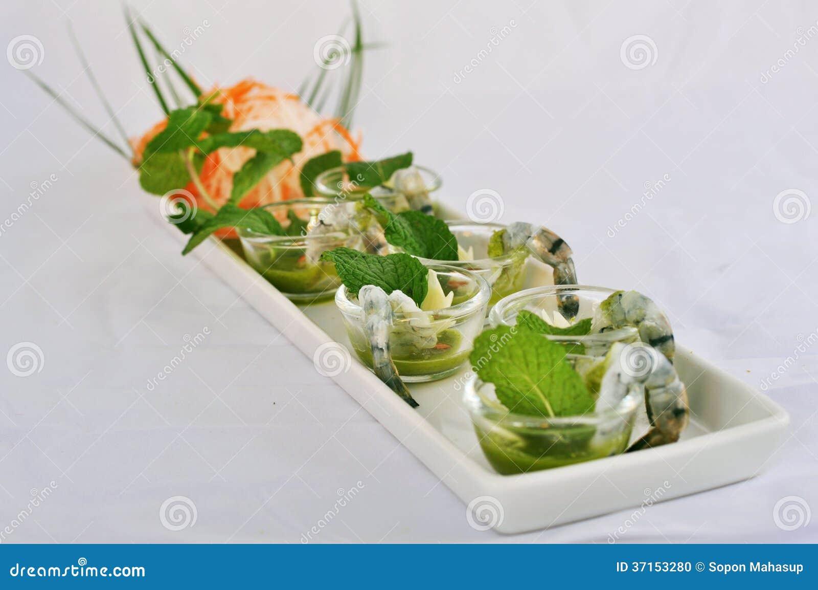 Garnele Wasabi