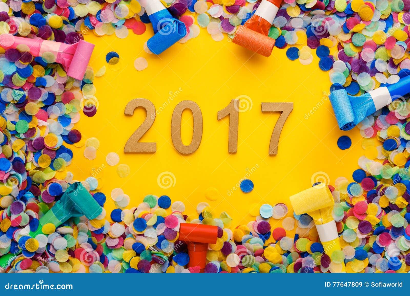 Garnering 2017 för nytt år