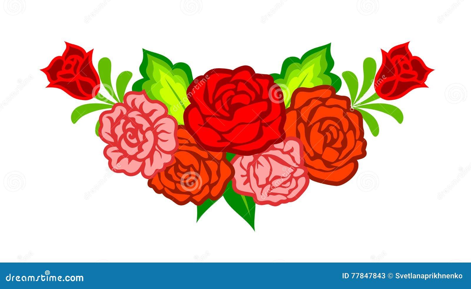 Garnering med mexikanska blommor