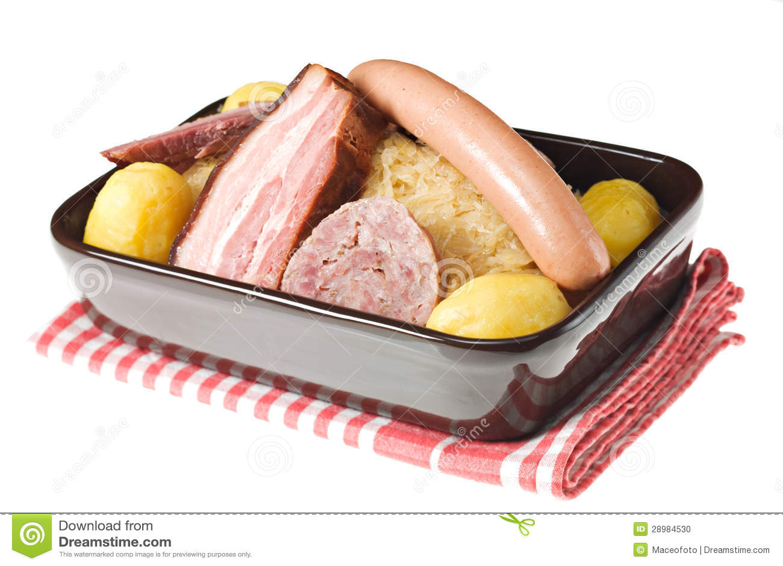 Garnished Sauerkraut