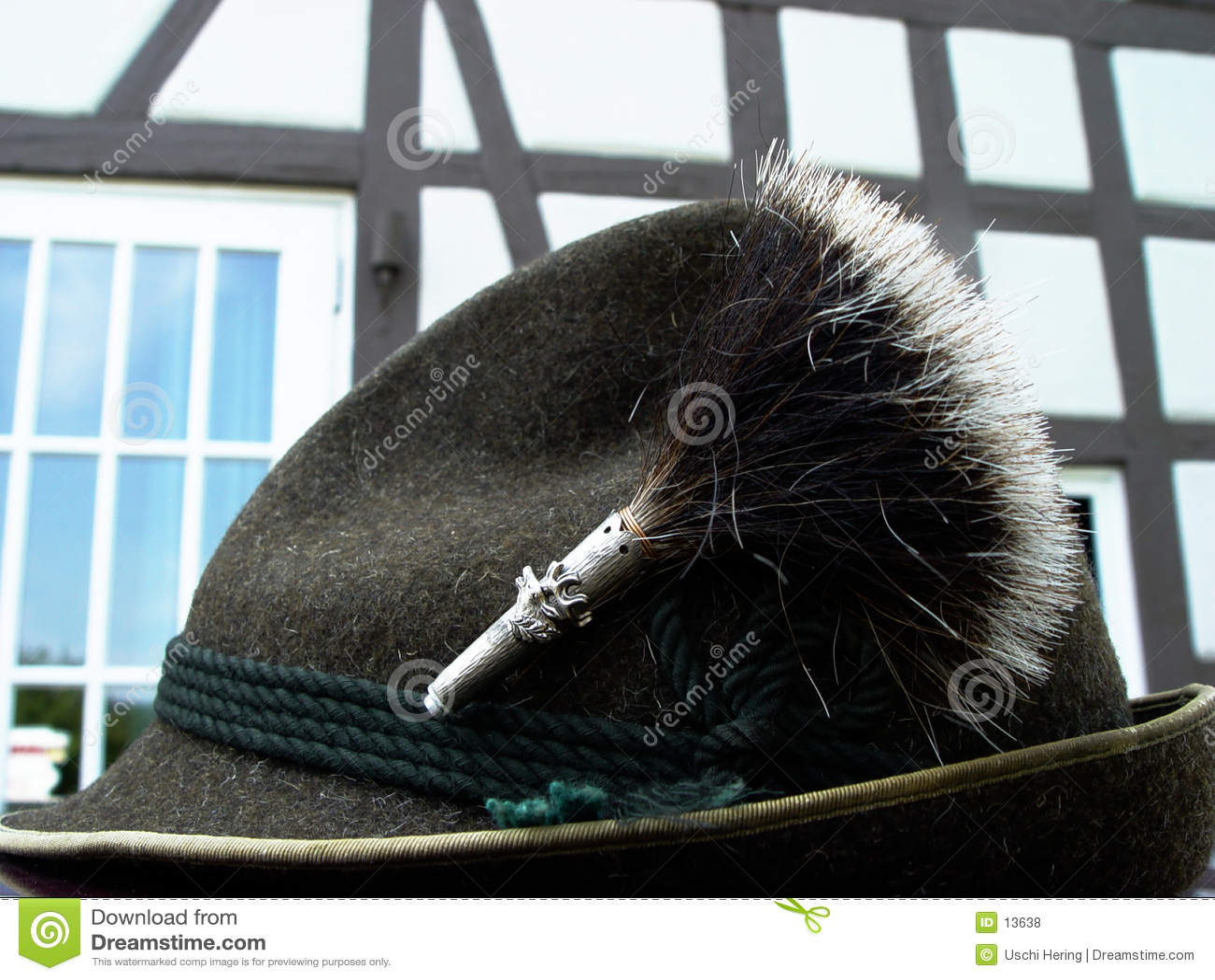Garnitur bavarian kapelusz