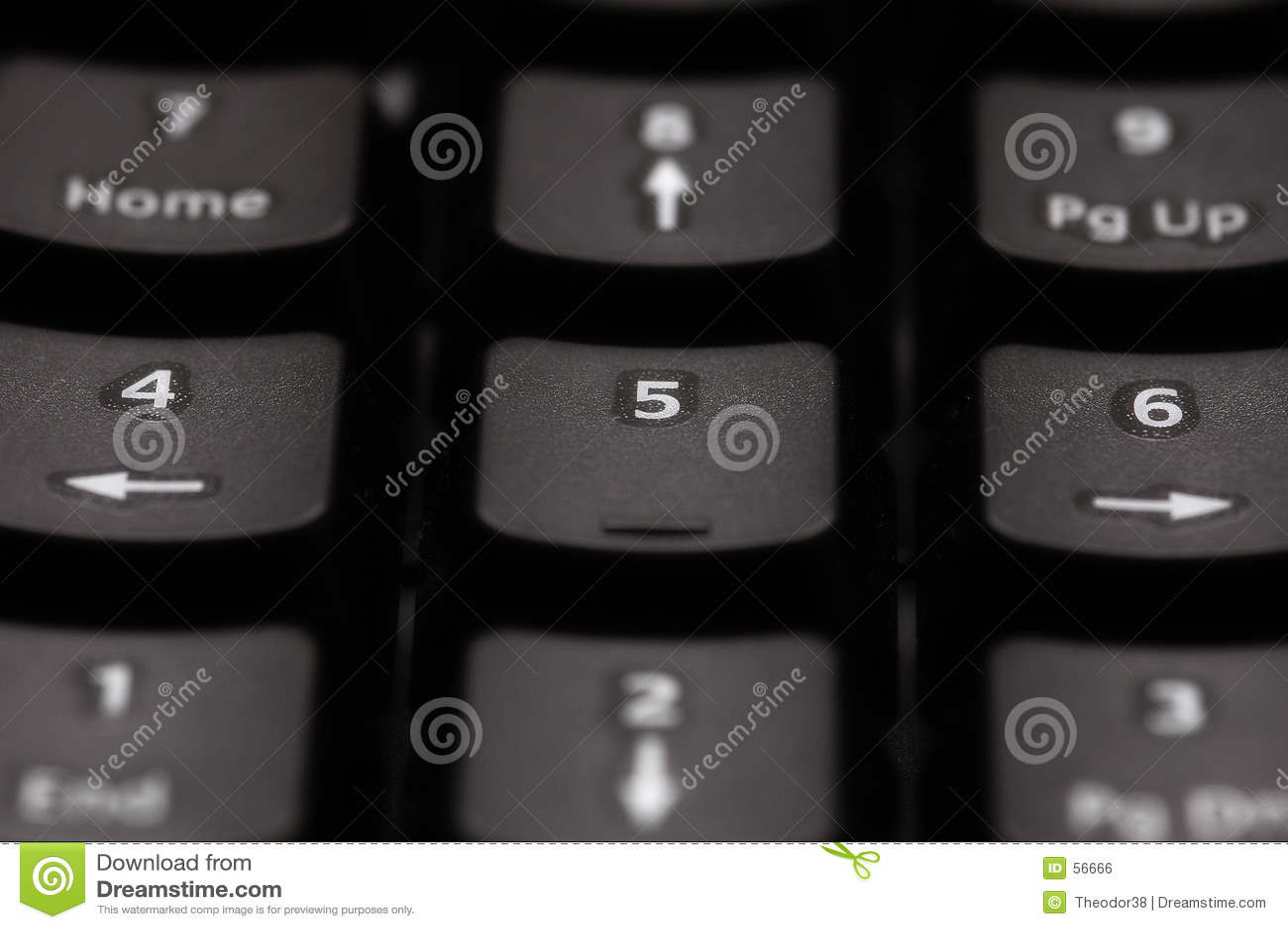 Download Garniture de numéro photo stock. Image du bureau, bouton - 56666