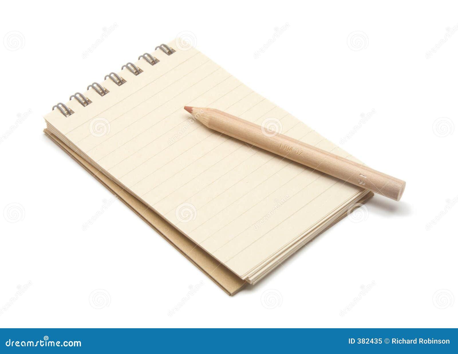 Garniture et crayon