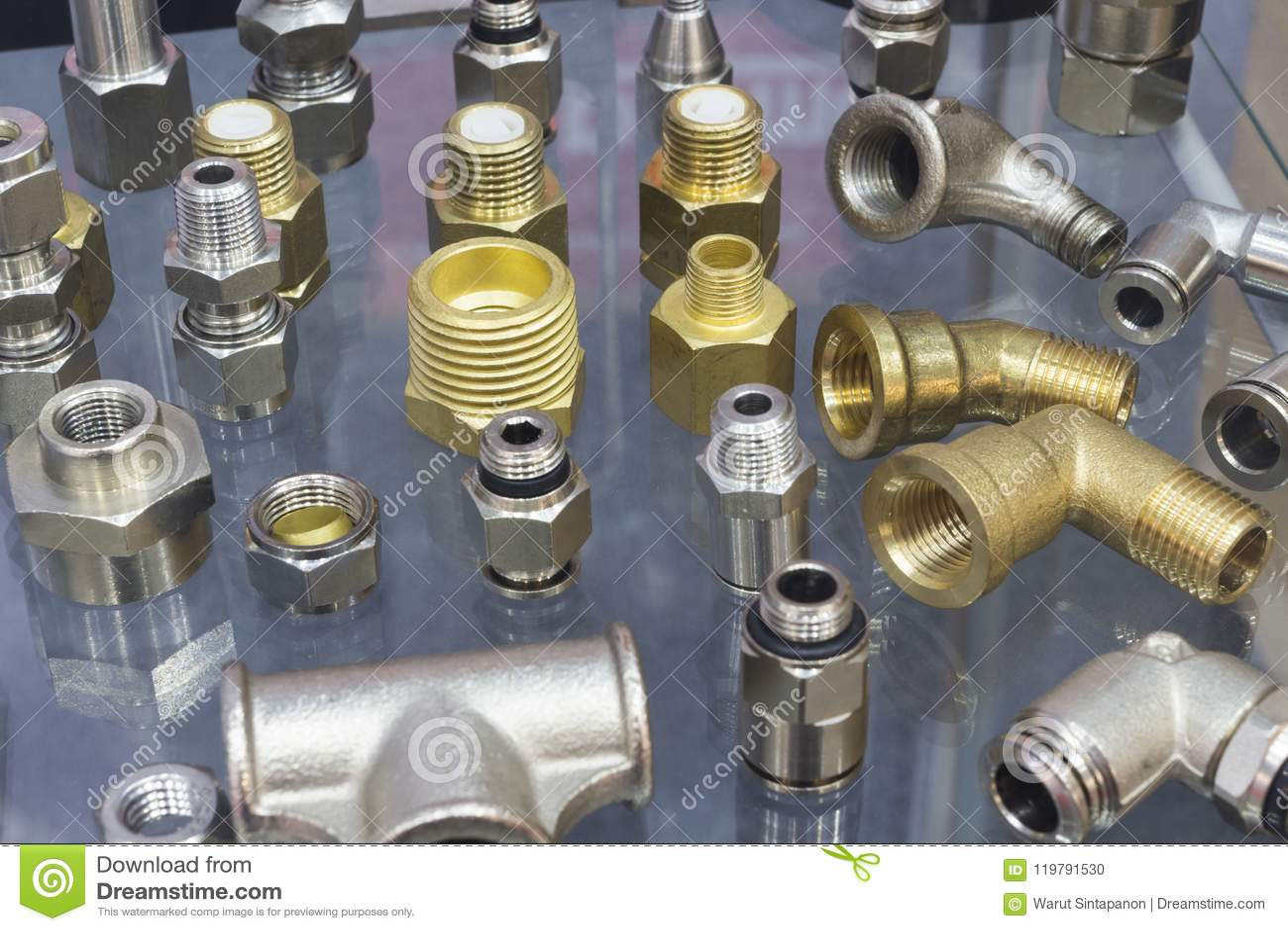 Garnitures d acier inoxydable pour des tuyaux
