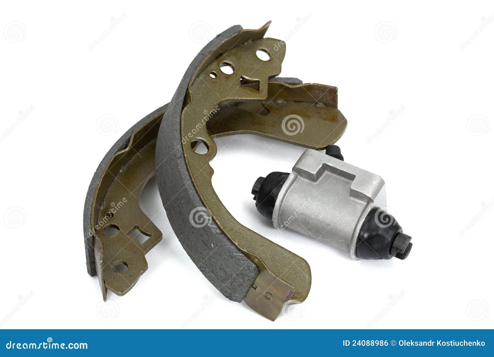 garnitures de frein et tambour de frein neufs de cylindre image libre de droits image 24088986. Black Bedroom Furniture Sets. Home Design Ideas